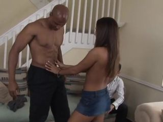 Tong cuckold wife with bbc hubby watches hd