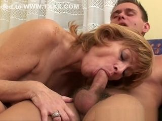 Granny gets their way muted pussy fucked abysm