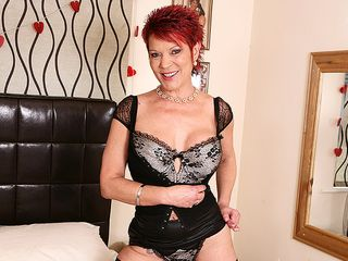 This wild UK housewife loves to have joy with her pierced vulva