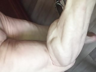 muscular legs calves veiny