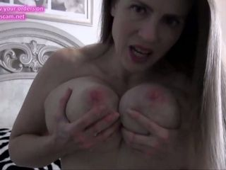 Mature mommy with ginormous rosy lactating nips