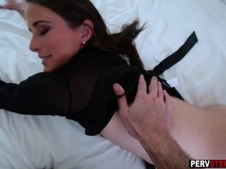 Nasty cougar step-mother liked in a stepsons super-fucking-hot grope
