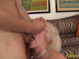 Rock hard to Believe blow and pulverize Crazed senior stunner Dalny Marga Is a grandmother