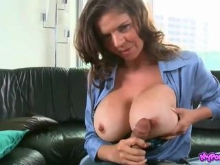 Mummy Officer torrid point of view lovemaking vid With gassy twunk
