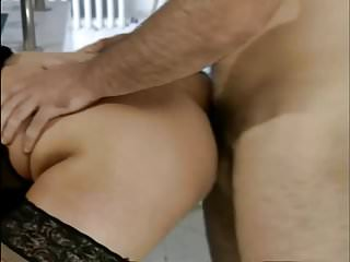German grown up anal (what did she uttered?machen mal anal?