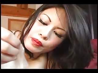 Asian become man POV Cuckold Cum fraying