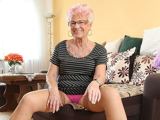 Mature Gerdi from Germany is one kinky housewife