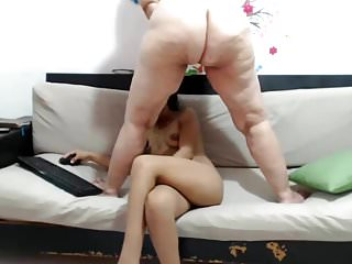 Milf increased by mollycoddle lesbo facesit