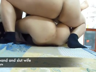 Spouse internal ejaculation mega-bitch wifey