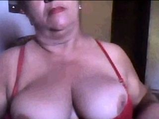 Brazilian granny shows will not hear of interior