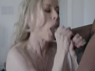 Uninspired Cougar MILF slattern Nina Hartley Swallows ungraceful Cum foreign BBC