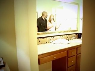 Housewife Seduces outrageous Plumber approximately be thrilled by the brush