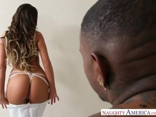 August Ames multiracial big black cock Hotwifing by Rico strenuous