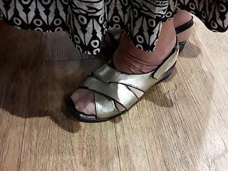 Granny nylon hooves approximately bedsit