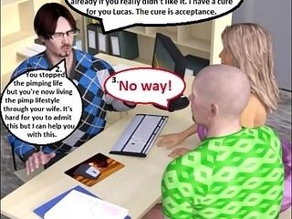 3D Comic: sexual intercourse affirmed join in matrimony Cuckolds &amp_ Humiliates scrimp involving sexual intercourseologist
