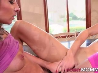 Step-mom cougar pierced puss