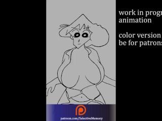 [Work in progress ] Shin chan anime porn toon (Misae / Mitzi)
