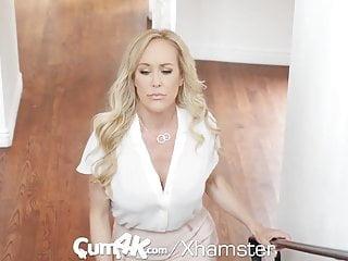 CUM4K Step mother Brandi enjoy crammed with numerous creampies