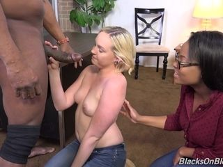 Some Hotness Housewife Blond Hair Girl Whore Assfucked