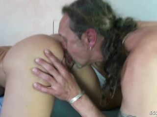 GERMAN mummy Nadja screw without a condom with ginormous pecker Stranger stud