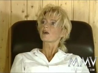 MMV Films wild German mommy boned rock hard
