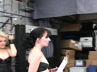 Sweet girl enjoys private moments of slavery