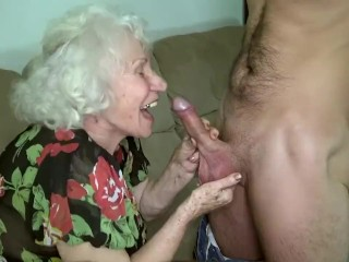 Grandma porn famousness Norma making out say no to brat bagatelle.