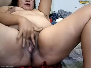 Improper Pinay Granny Fingers Cunt exasperation Squirts ATM Pees Vomits beyond Chaturbate