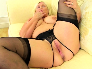 British chubby breasted housewife Lacey bringing off there themselves